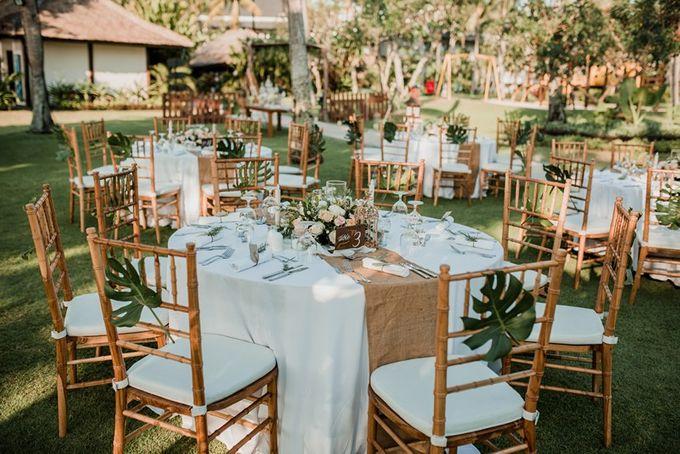Rustic Decoration by Bali Izatta Wedding Planner & Wedding Florist Decorator - 006