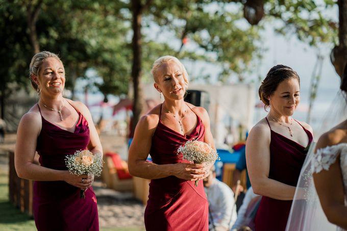 Wedding Ceremony Beach Front by Bali Izatta Wedding Planner & Wedding Florist Decorator - 007
