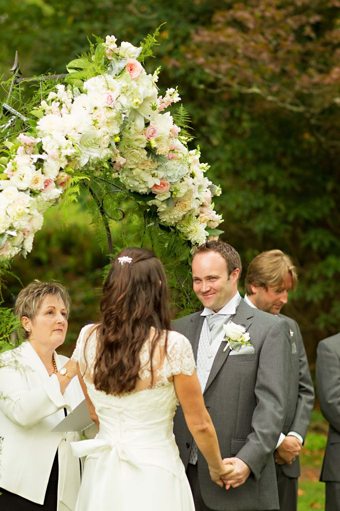Ceremony and Reception by Affair with George  Florals & Event Styling - 021