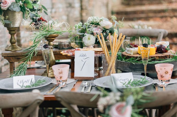 RUSTIC GRAZING TABLE by Bloc Memoire Photography - 002