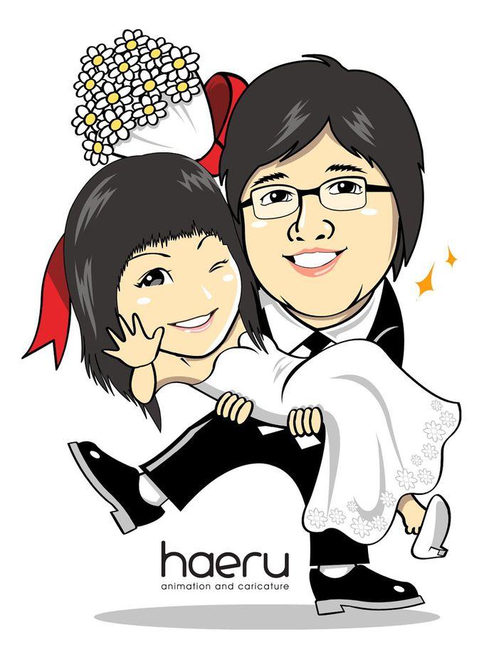 Premium Wedding Caricature by haeru Animation and Caricature - 001