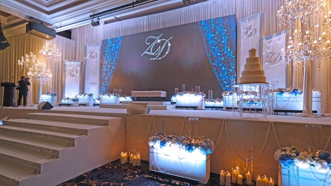 Sparkling Theme Wedding by ZURIEE AHMAD CONCEPTS SDN BHD - 003
