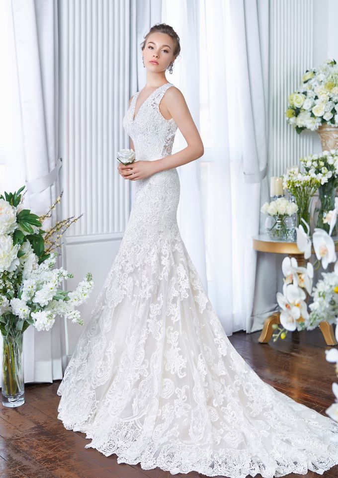 Orchid Wedding Gown Collection by Digio Bridal - 003