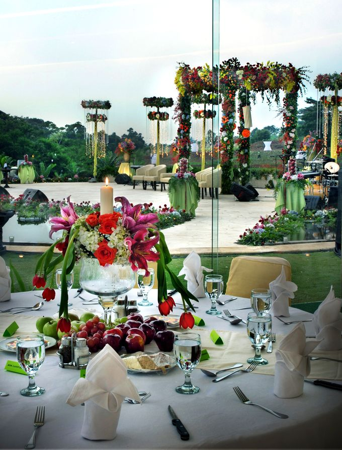 Wedding at On Green by Raffles Hills Cibubur - On Green Garden Venue - 011