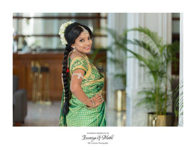 Wedding of Ishwariya & Mathi by DR Creations - 003