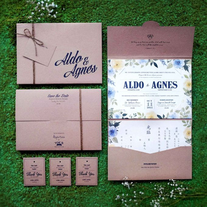 ALDO & AGNES by YOE'S CARD - 003