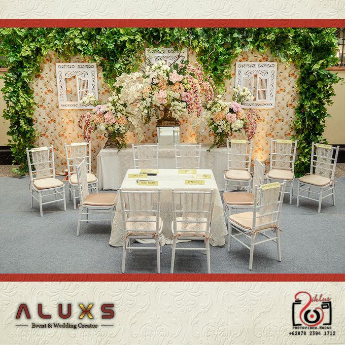 The Wedding of Santa & Khresna by Alux's Event & Wedding Creator - 046