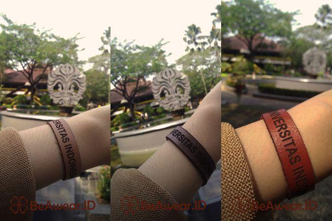 Gelang kulit Asli Custom by Beawear.id - 001