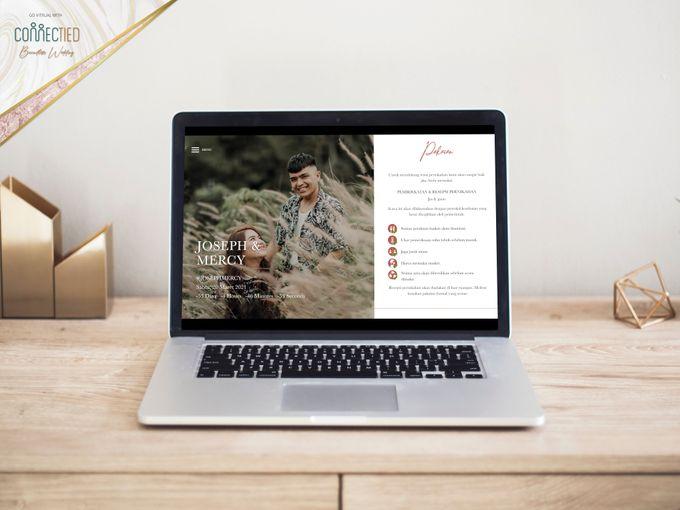 Joseph & Mercy - Digital Invitation / Undangan Digital Connectied v2.0 + Live Streaming by Connectied Virtual Wedding - 004
