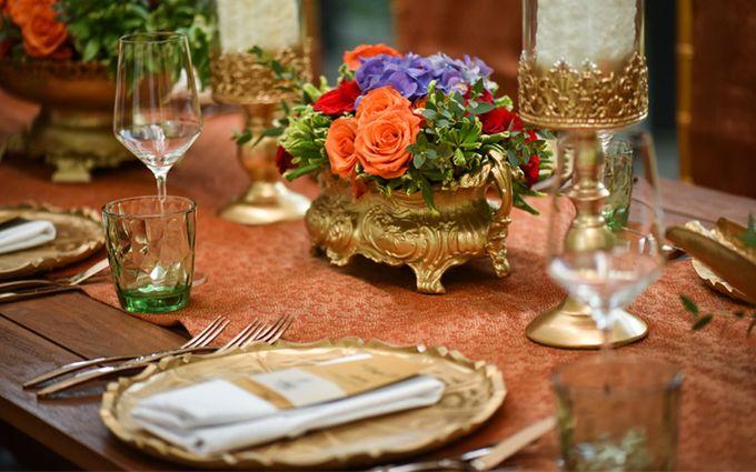 Minangkabau Traditional wedding set up at The Glass House by Tirtha Bridal - 004