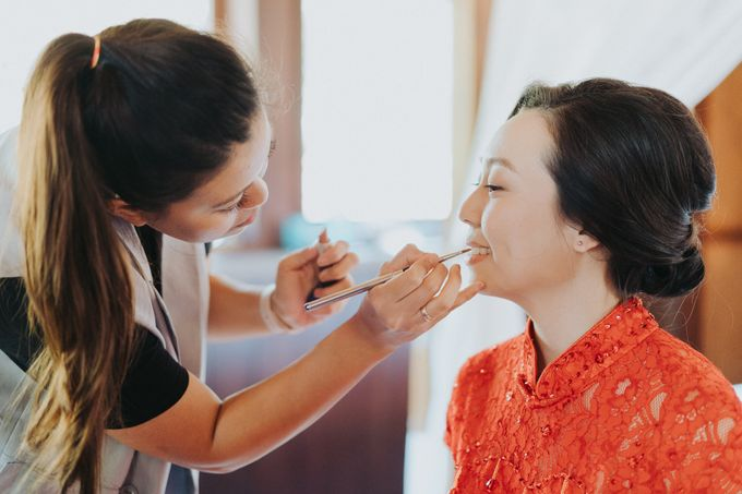 The Wedding of Shahril & Vivian by BDD Weddings Indonesia - 004
