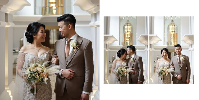 The Wedding of Carin and Stephen by Wong Hang Distinguished Tailor - 006