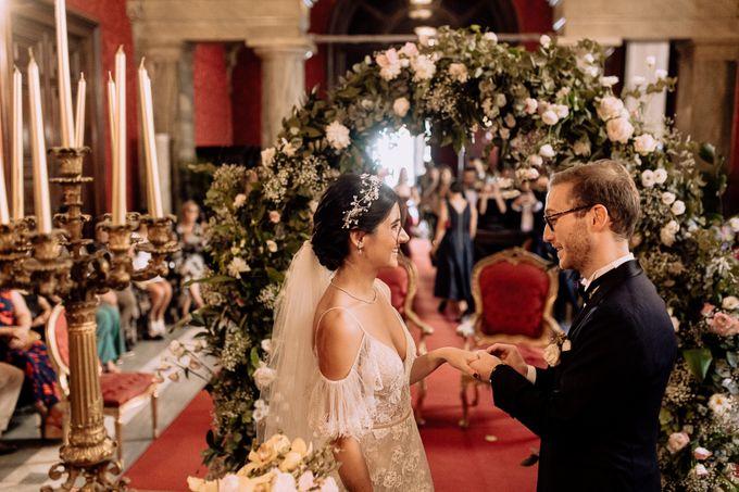 Wedding Ceremony in Villa Giovanelli Fogaccio by Vera Weddings - 027