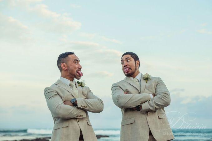 Tenniel and Dean Wedding by D'studio Photography Bali - 016