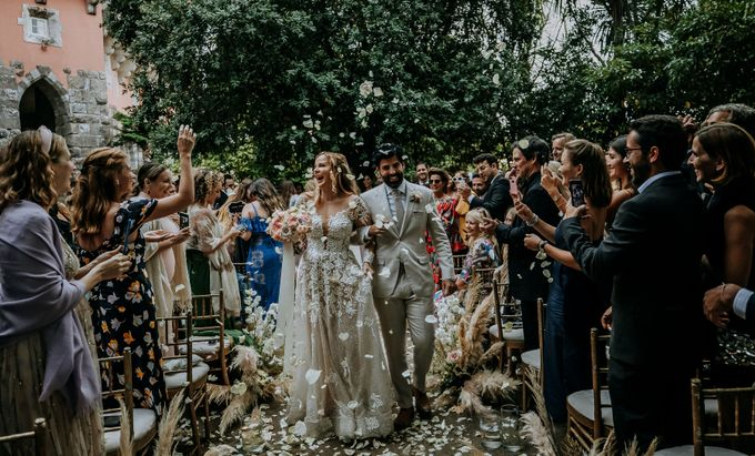 Summer & Pedro Castle Wedding by Fashion Moments Eventos - 014