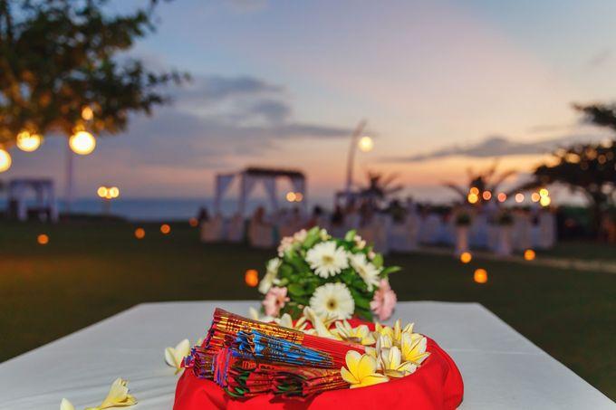 Dreamy Beach and Garden Wedding by D'studio Photography Bali - 005