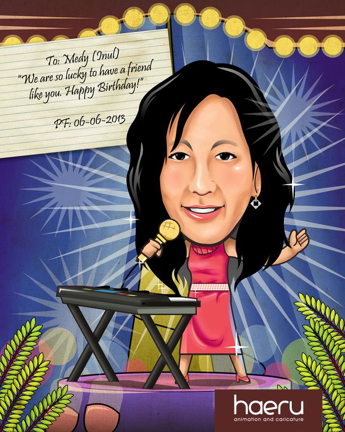 Premium Caricature for Gift by haeru Animation and Caricature - 002