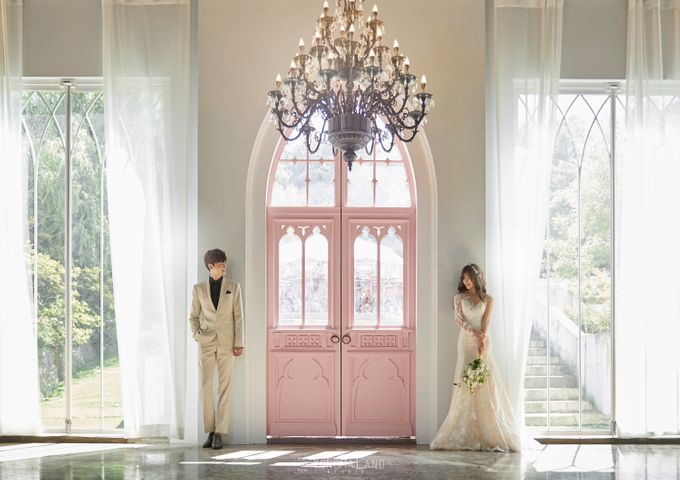 Korea Pre-Wedding Photoshoot - Studio 29 by Willcy Wedding by Willcy Wedding - Korea Pre Wedding - 001