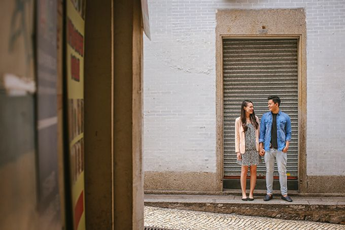 Silver and Jenn Macau Engagement Session by Leighton Andante - 004