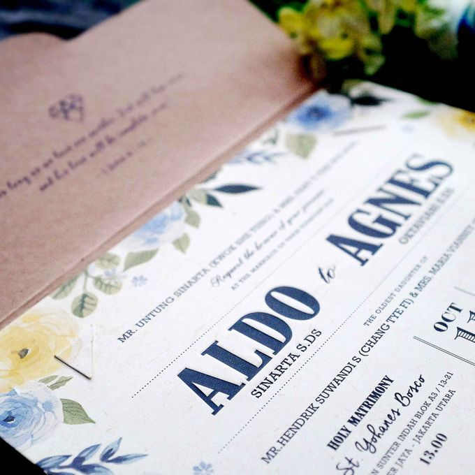 ALDO & AGNES by YOE'S CARD - 004