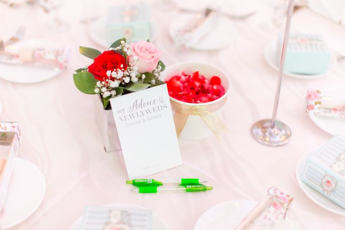 Malay Wedding Extraordinaire Celebration - Daniaal & Suhaila by Born2talk - 003