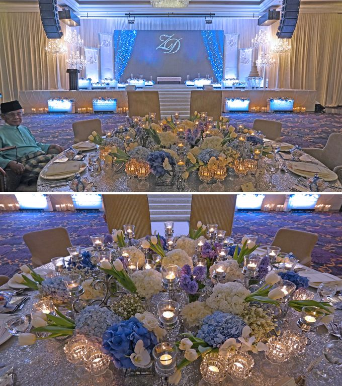 Sparkling Theme Wedding by ZURIEE AHMAD CONCEPTS SDN BHD - 002