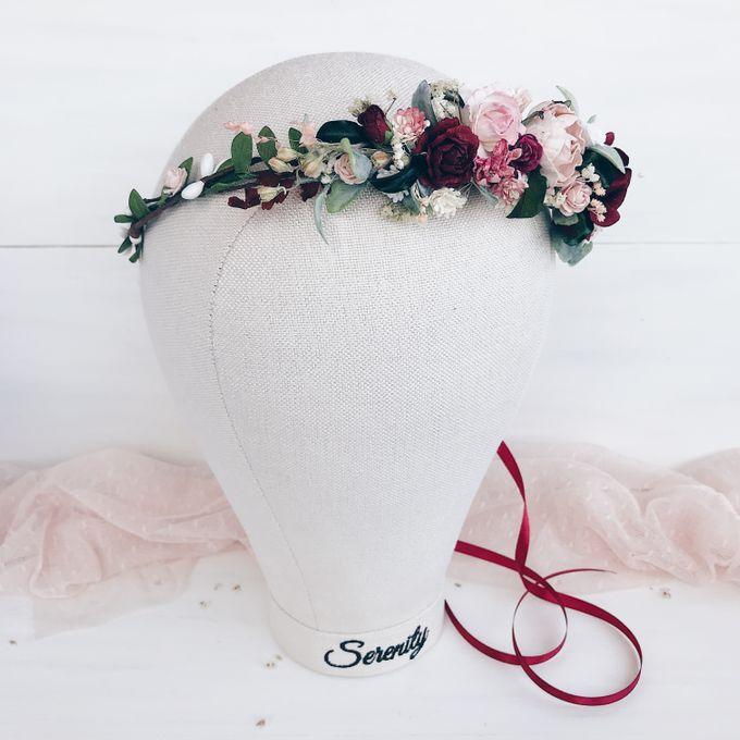 Bridal Flower crown by Serenity Wedding - 002