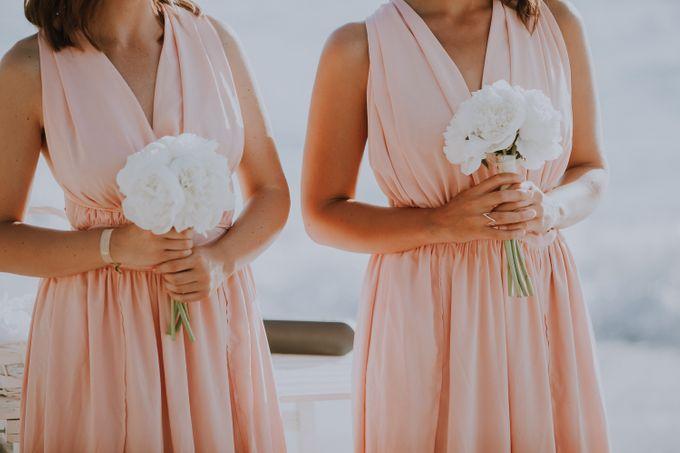 Glamorous destination beach wedding in Lefkada by Your Lefkada Wedding - 030