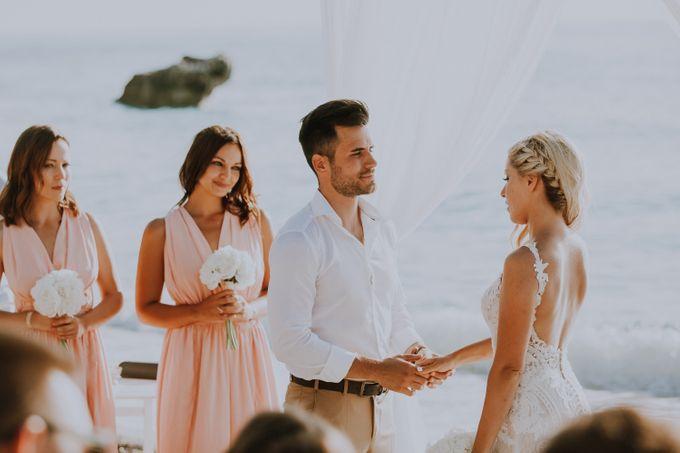 Glamorous destination beach wedding in Lefkada by Your Lefkada Wedding - 032