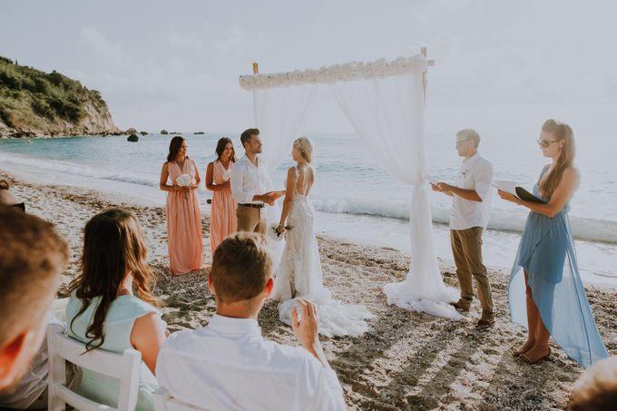 Glamorous destination beach wedding in Lefkada by Your Lefkada Wedding - 033