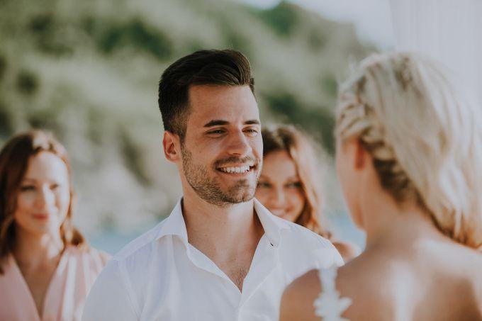 Glamorous destination beach wedding in Lefkada by Your Lefkada Wedding - 034