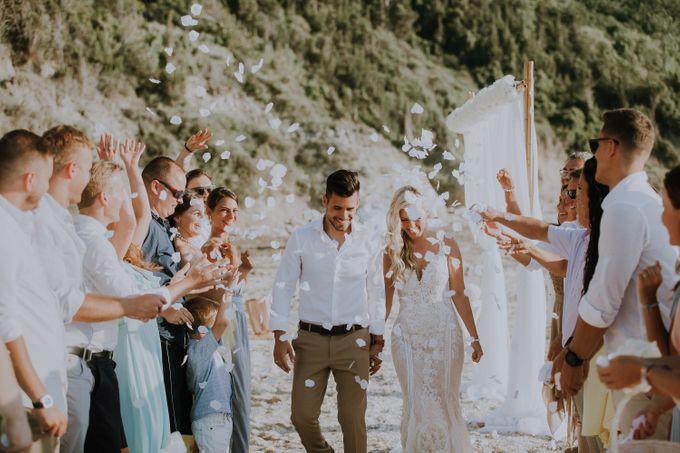 Glamorous destination beach wedding in Lefkada by Your Lefkada Wedding - 036