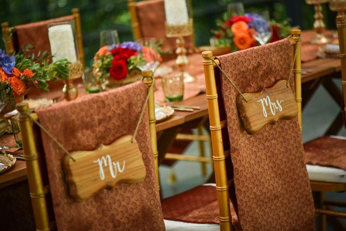 Minangkabau Traditional wedding set up at The Glass House by Tirtha Bridal - 005
