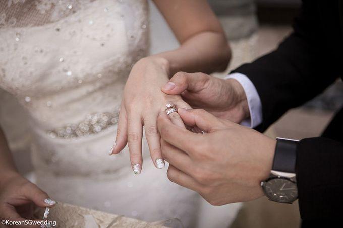 THET NAING SOE + ZIN MYO HTET Actual wedding by Eric Oh  Korean Photographer - 005