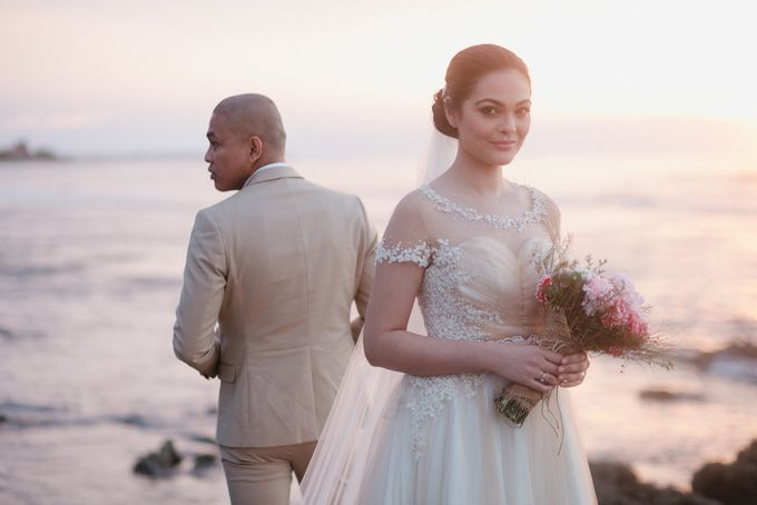 Christian and Carol Beach Themed Wedding - La Union Wedding Photographer by Mot Rasay Photography - 008
