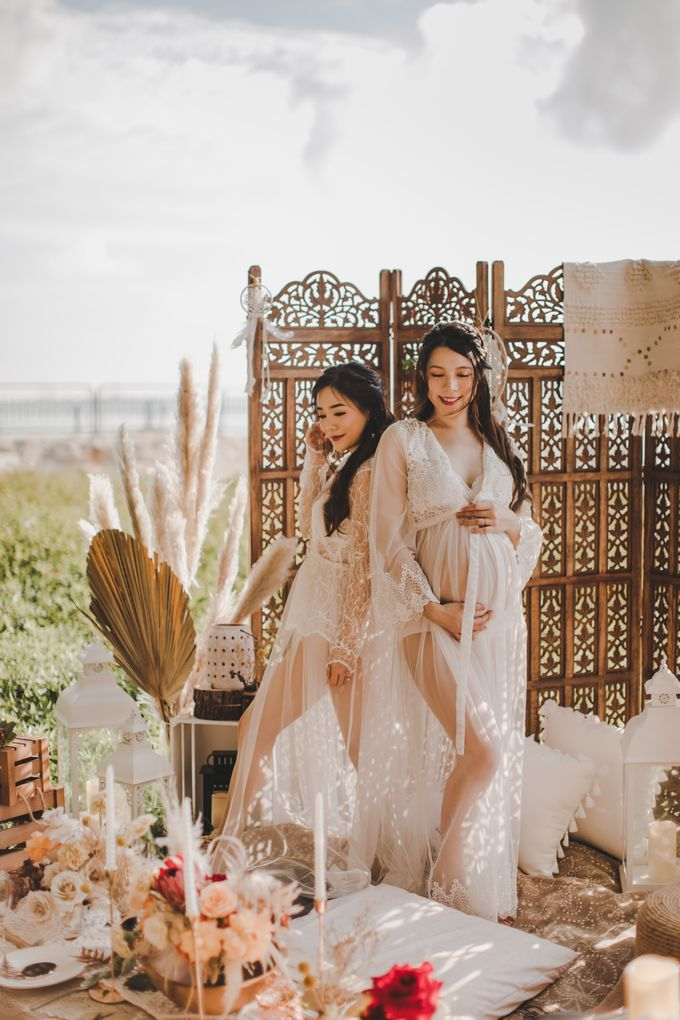 Bohemian Beach Picnic Styled Shoot by Whimsey June - 007