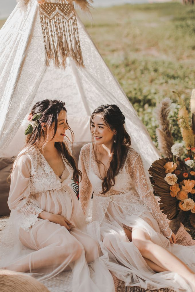 Bohemian Sisters Boudoir by Whimsey June - 003