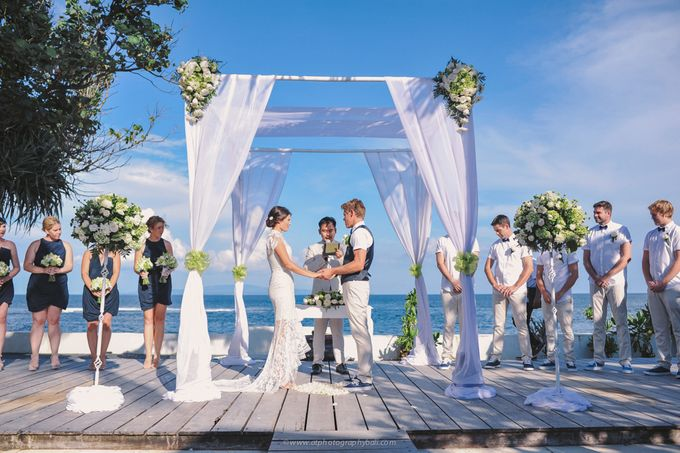 Jade & Jeremy | Wedding in Bali by AT Photography Bali - 015