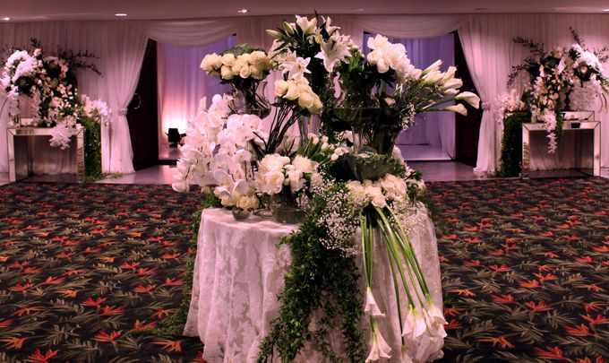 John and Xuan Wei's Holy Matrimony by Amarillis Floral and Party Decorator - 006
