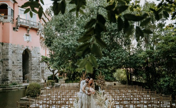 Summer & Pedro Castle Wedding by Fashion Moments Eventos - 016