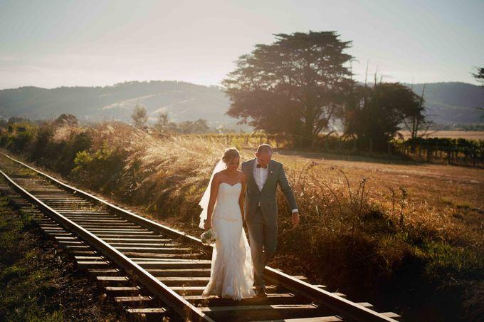 Yarra Valley Weddings by Zonzo Estate - 008