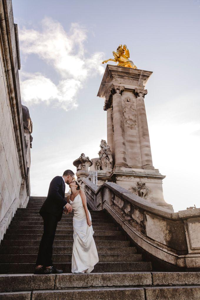 Paris Engagement Photoshoot  -  Fevrier Photography by Février Photography   Paris Photographer - 007