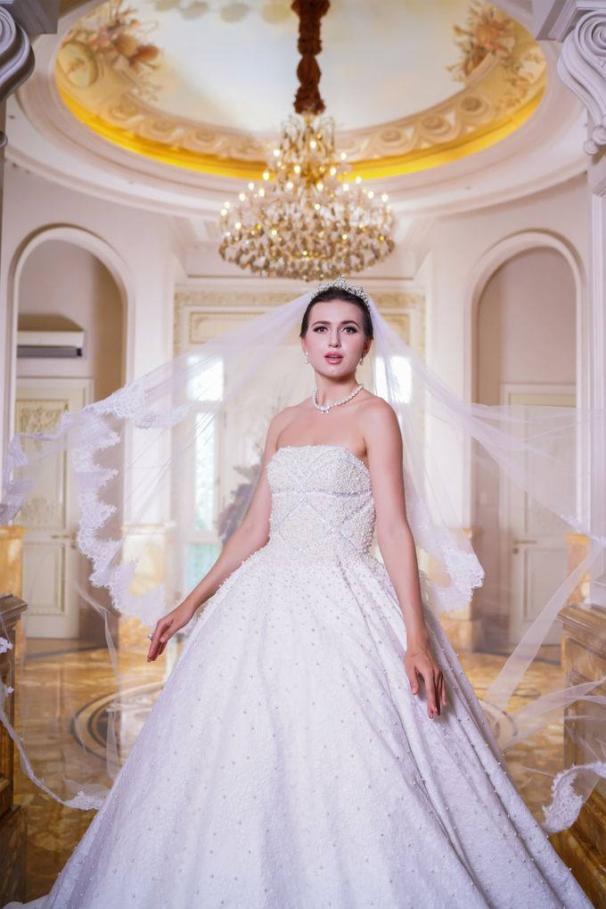 Wedding Gown by Jeffry Sui Couture - 003