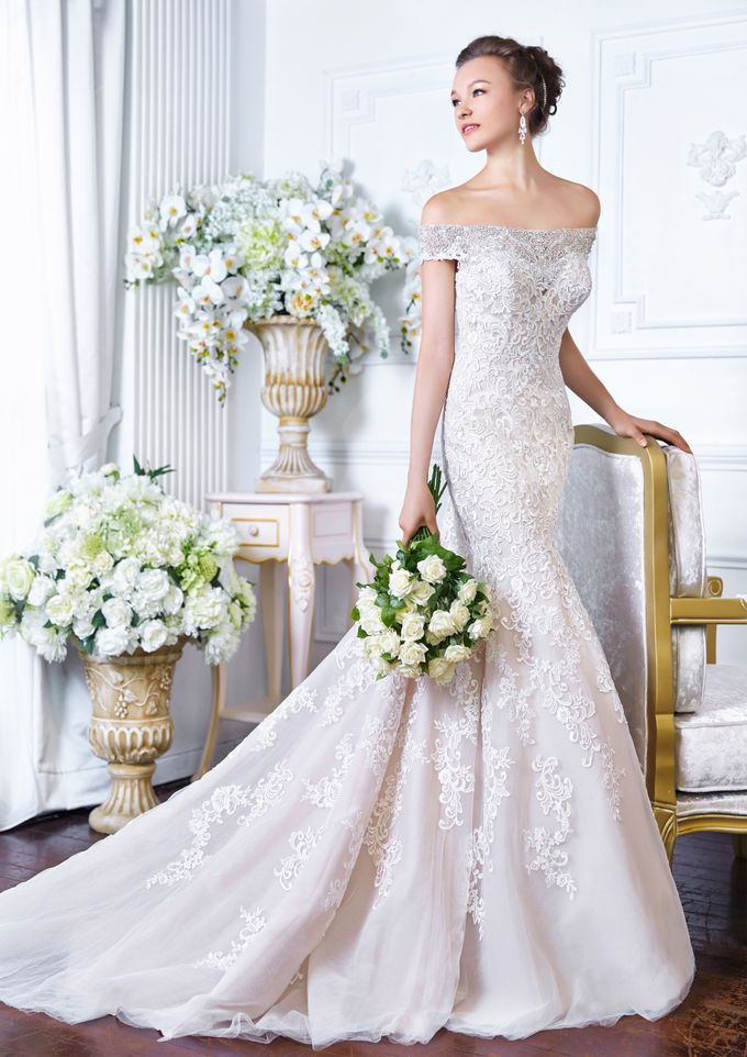 Orchid Wedding Gown Collection by Digio Bridal - 005