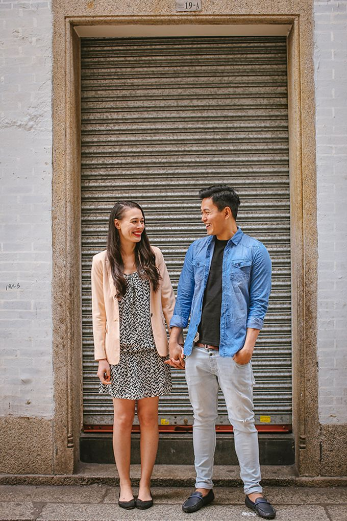 Silver and Jenn Macau Engagement Session by Leighton Andante - 005