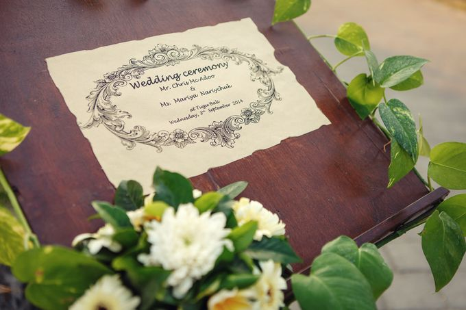 Unforgettable Vow by D'studio Photography Bali - 001