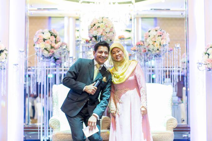 Malay Wedding Extraordinaire Celebration - Daniaal & Suhaila by Born2talk - 004