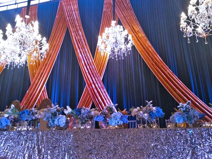 Midnight Blue theme Wedding by ZURIEE AHMAD CONCEPTS SDN BHD - 005