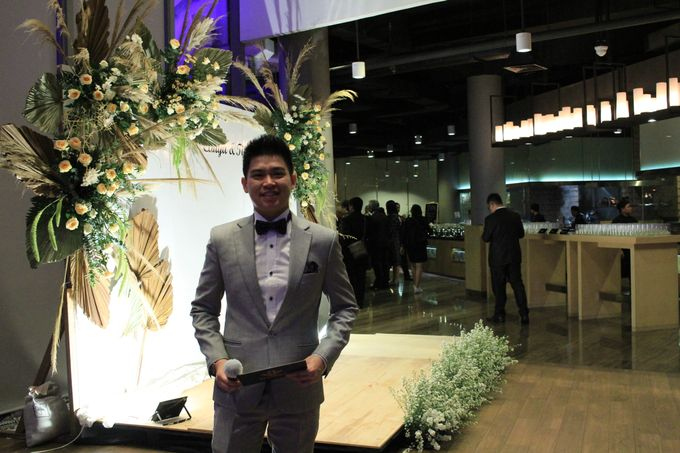 Jazz Wedding Entertainment - Double V  Entertainment with Anthony stevven MC  Intimate Open Restaurant Double Tree Jakarta by Anthony Stevven - 015