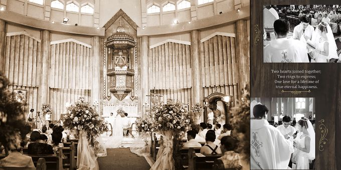 Wedding Album Lay-out by CJC PHOTOGRAPHY ASIA CORPORATION - 011